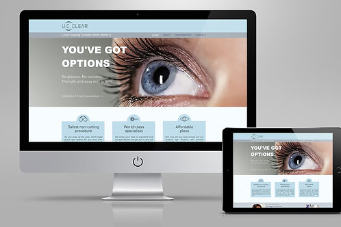 Optometry - Website Template