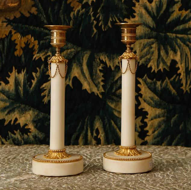 Gustavien candlesticks