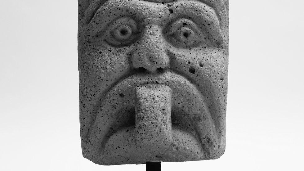 16 th century sand stone head