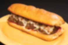 Mio's meatball hoagie