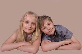 Children studio portrait