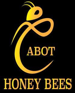 Cabot Bee Logo Black background