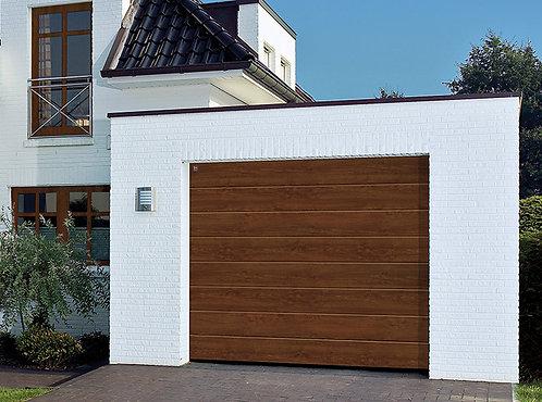 Комплект гаражных ворот Hoermann 3000x2250 (цвет - тёмный дуб)