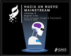 Hacia un nuevo Mainstream Informe 9 Digital Life flyer
