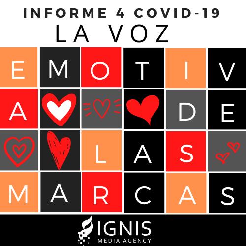 Informe 4 // Covid-19 La voz emotiva de las marcas