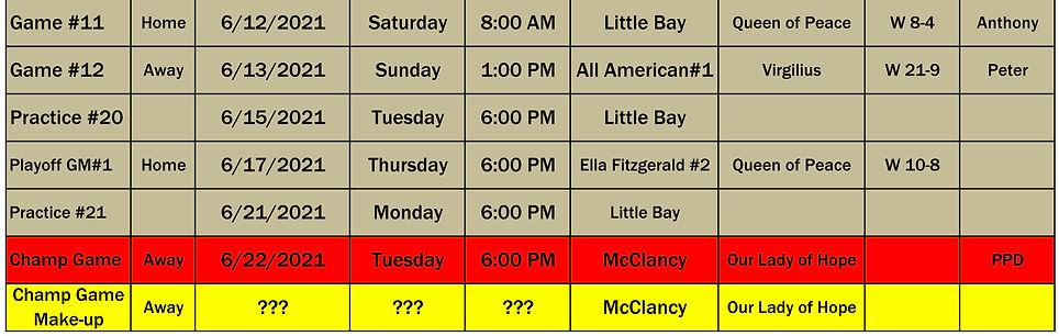 2021 St Lukes 6th Grade Schedule p3 0622