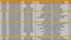 2018 Fall NYCE 13-14u Schedule 10 21 201