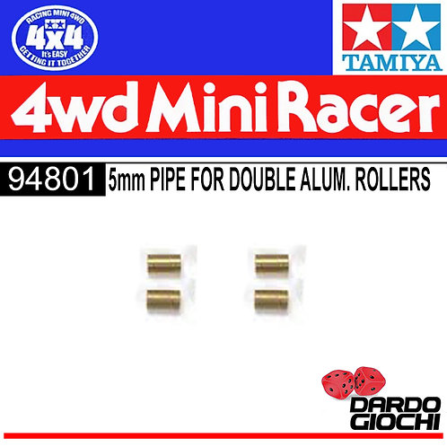5mm Pipe For Double Aluminum Rollers (4pcs) ITEM 94801
