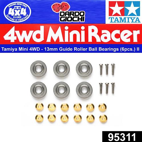 13mm Dia. Guide Roller Ball Bearings ( 6 pcs.) ITEM 95311