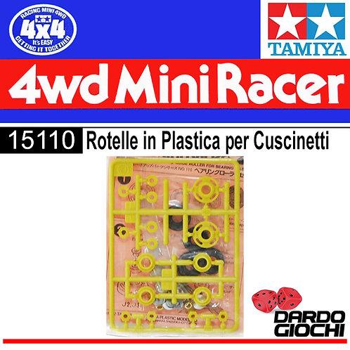 ROTELLE IN PLASTICA PER CUSCINETTI ITEM 15110