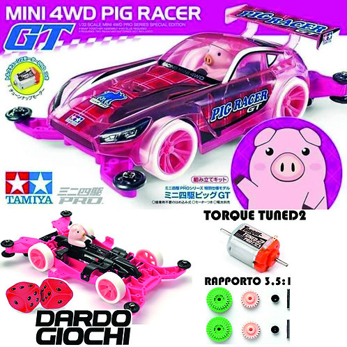 Mini 4WD PIG Racer GT (MA Chassis) ITEM 95480