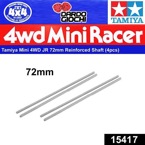 72mm Reinforced Shafts ( Black , 4pcs ) ITEM 15417