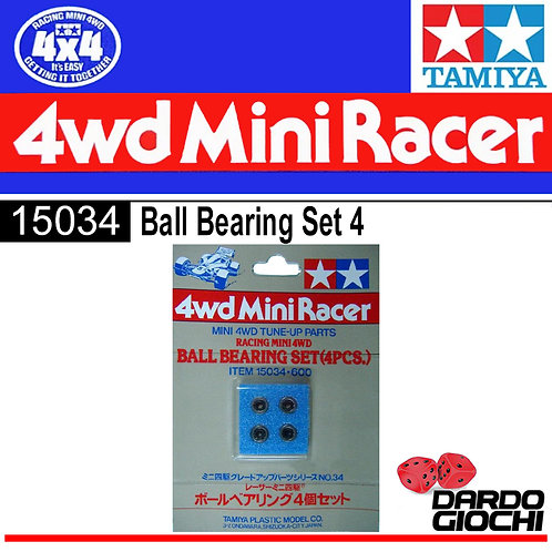 BALL BEARING SET 4 ITEM 15034
