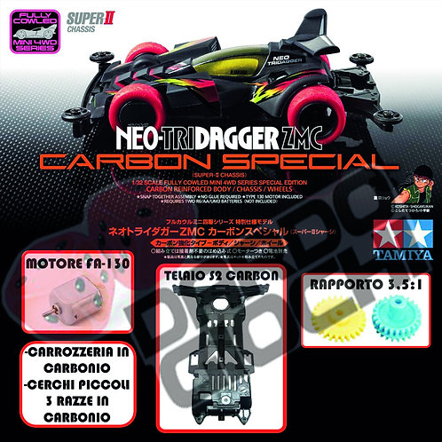NEO-TRIDAGGER ZMC CARBON SPECIAL (SII Chassis) ITEM 95508