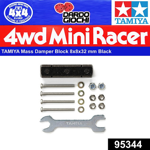 Mass Damper Block (8x8x32mm/Black) ITEM 95344