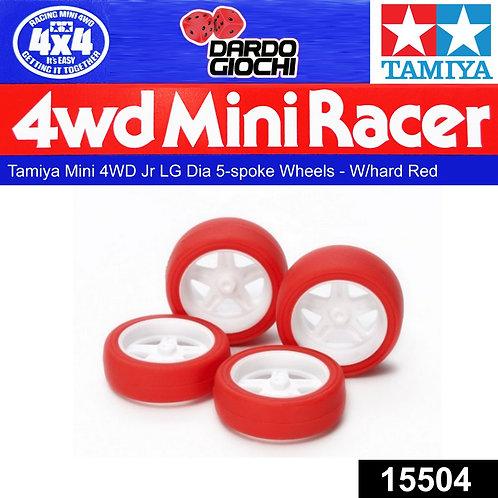 Gomme rosse + cerchi largo diametro superxx 15504