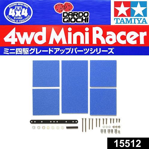 Brake Sponge Set (Mild,1/2/3mm Blue ITEM 15512