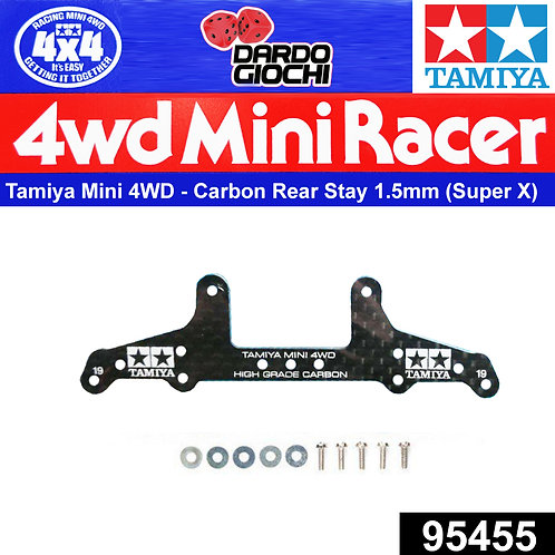 HG Carbon Rear Roller Stay For Super X Chassis (1,5mm) ITEM 95455