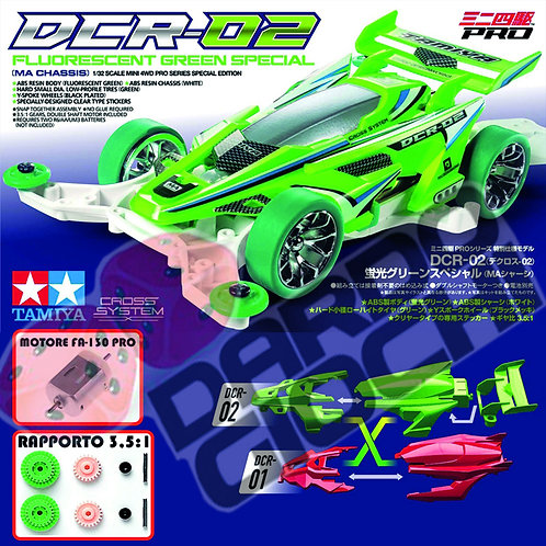DCR-02 Fluorescent Green Special (MA Chassis) ITEM 95510