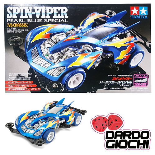SPIN VIPER pearl blue special item 95329