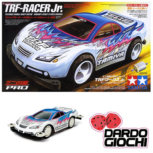 TRF-Racer Jr. ( ms Chassis ) LEXAN  ITEM 18613