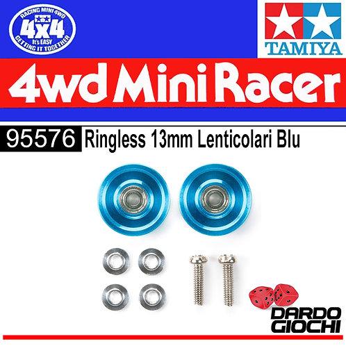 RINGLESS 13mm LENTICOLARI BLU ITEM 95576