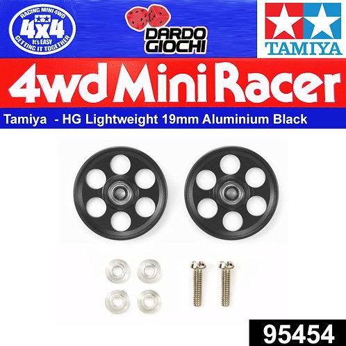 HG Lightweight 19mm Aluminium Ball-Race Rollers (Gun Metal) ITEM 95454