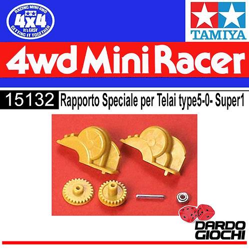 RAPPORTO SPECIALE PER TELAI TYPE  5-0 SUPER1 ITEM 15132