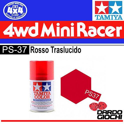 PS-37 ROSSO TRASLUCIDO