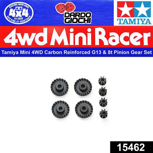 Carbon Reinforced G13 & 8T Pinion Gear Set ITEM 15462