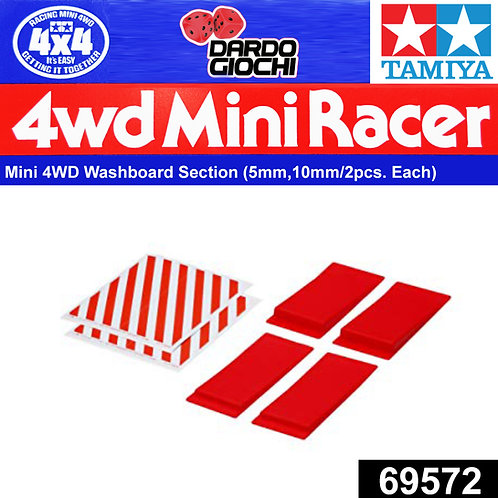 MINI 4WD WASHBOARD SECTION ITEM 69572