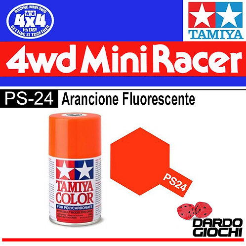 PS-24 SPRAY PER POLICARBONATO ARGENTO FLUORESCENTE