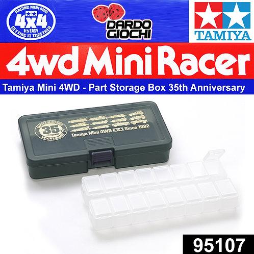 MINI 4WD PARTS STORAGE BOX SET (35th ANNIVERSARY) ITEM 95107