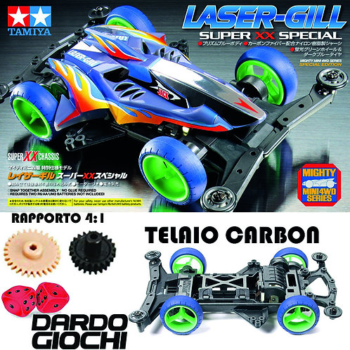 Laser-Gill (Super XX Chassis CARBON) ITEM 95468