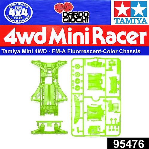 FM-A Fluorrescent-Color Chassis Set (Green) ITEM 95476