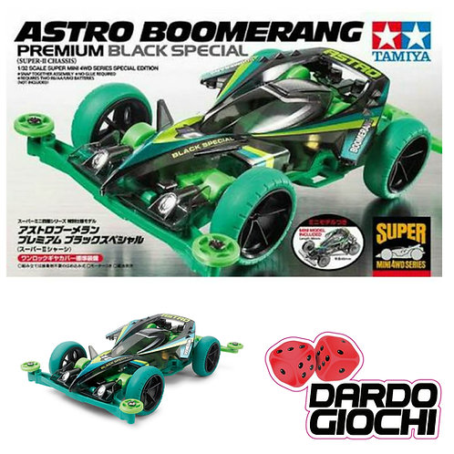 Mini 4wd ''Astro Boomerang'' SuperII. ITEM 95377