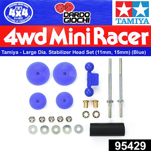 Large Dia. Stabilizer Head Set (11mm, 15mm) (blue) ITEM 95429