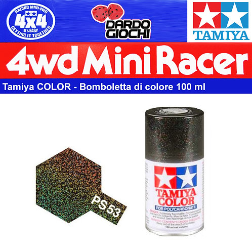 Tamiya Spray  PS 53 x Lexan Policarbonato PS 53 Lamé Flake
