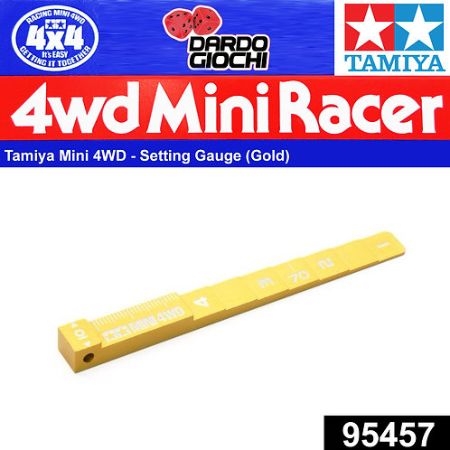 MINI 4WD Setting Gauge (Gold) ITEM 95457
