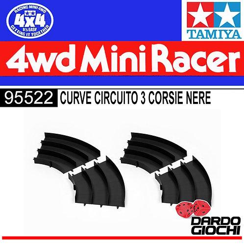CURVE CIRCUITO 3 CORSIE (1pcs) ITEM 95522
