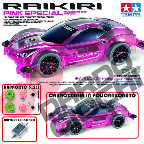 RAIKIRI PINK SPECIAL (MS Chassis) ITEM 95486