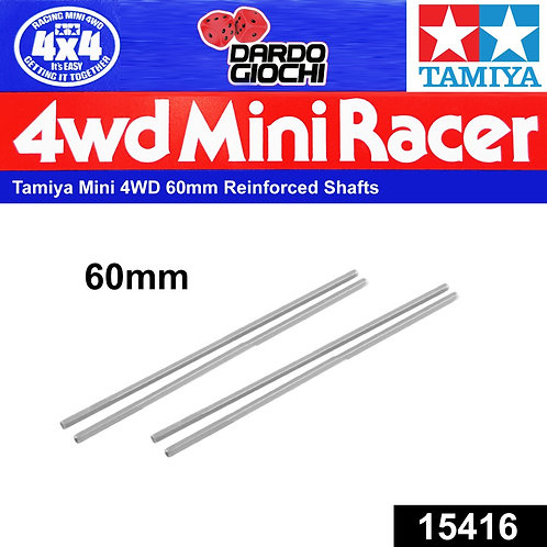 60mm Reinforced Shafts ( Black , 4pcs ) ITEM 15416