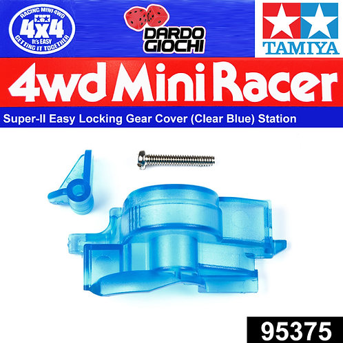 Super-II Easy Locking Gear Cover (Clear blue) ITEM 95375