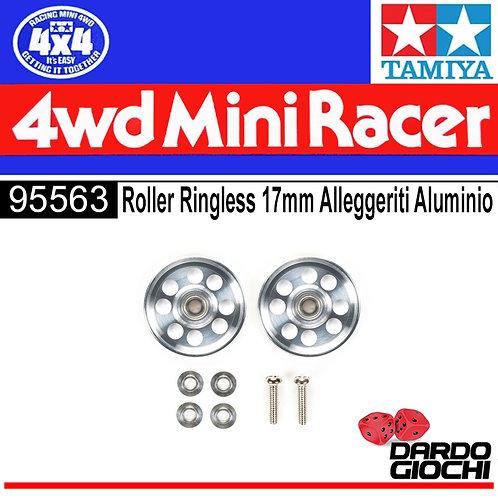 LIGHTWEIGHT 17mm ALUMINUM BALL-RACE RINGLESS ITEM 95563