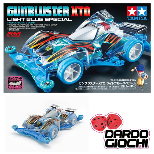 GUNBLUSTER XTO Light Blue Special (FM-A Chassis) ITEM 95439