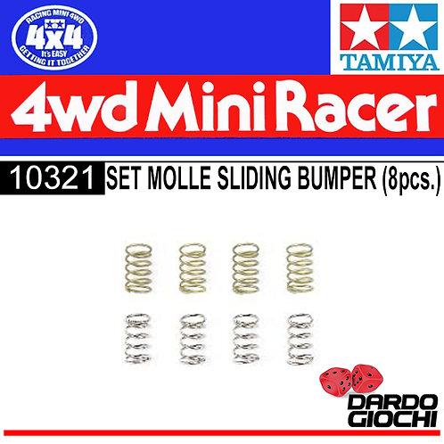Mini 4WD Sliding Damper 2Spring Set ITEM 10321