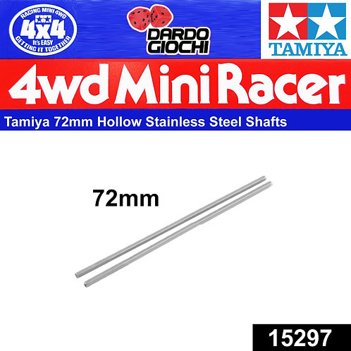 72mm Hollow Stainless Steel Shaft ITEM 15297