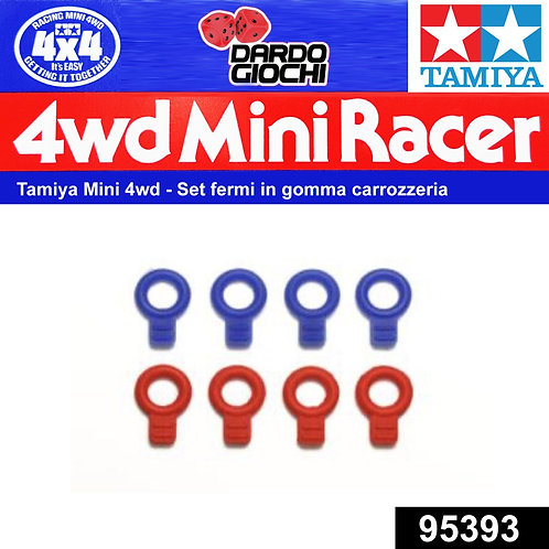 Rubber Body Catches (Blue/Red) ITEM 95393