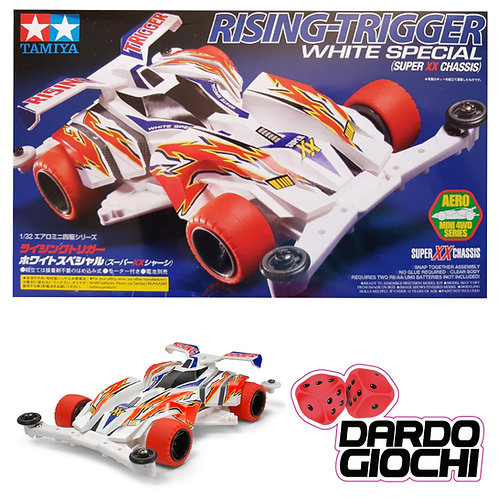 RISING-TRIGGER WHITE SPECIAL (SUPER XX CHASSIS) ITEM 19619