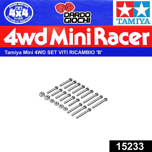 Mini 4WD Screw Set B ITEM 15233